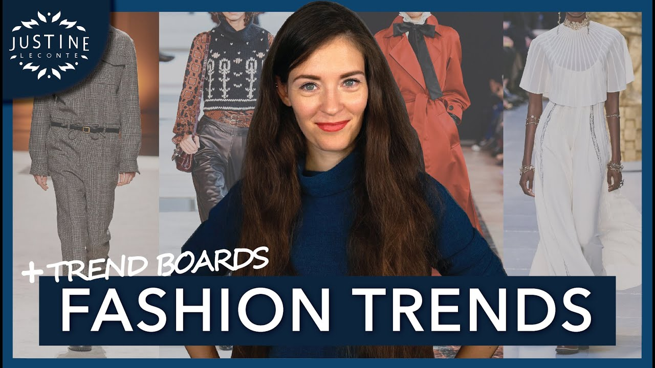 FASHION TRENDS FALL / WINTER 2020-2021 (but wearable)