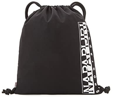 Napapijri HAPPY GYM SACK Zaino Casual, 42 cm, 18 liters, Nero (Black)