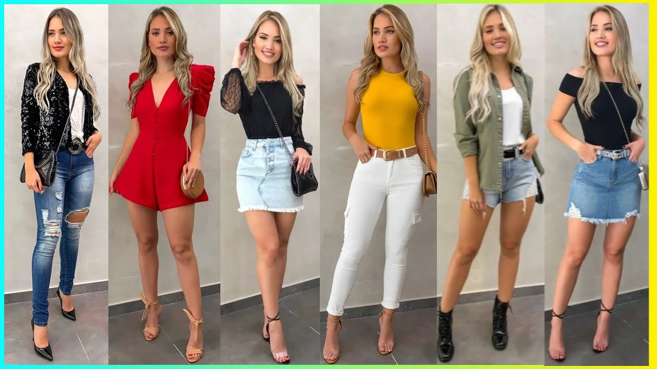 OUTFITS CASUALES FASHION 2021 |PARA DISTINTAS OCASIONES MODA Y TENDENCIAS 2021