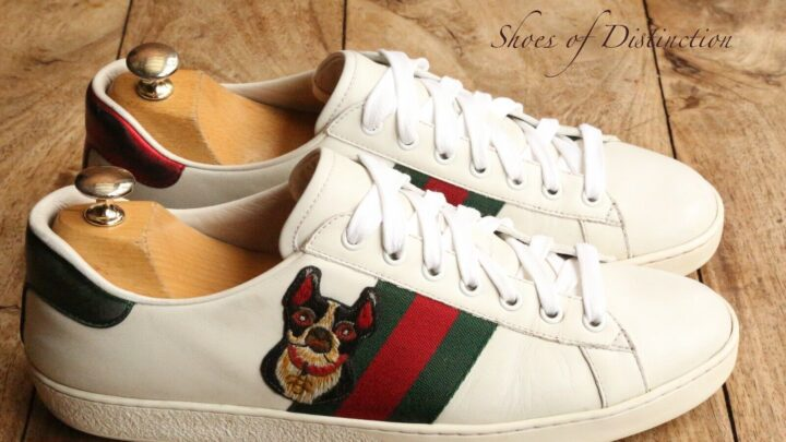 Gucci Ace White Leather Trainers Sneakers Rare Ltd Edition UK 8 US 9 EU 42