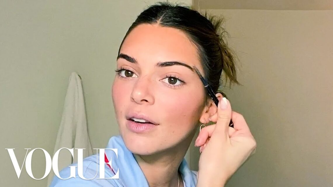 KendallJenner's Acne Journey, Go-To Makeup and Best Family Advice   Beauty Secrets   Vogue